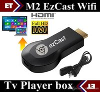Wholesale Ezcast M2 Display mirroring Miracast HDMI Smart TV Dongle AllShare wifi Media Player supports DLNA chromecast For Q88 Smart phone