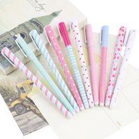 Wholesale 1set Korean Stationery Stationery Watercolor Pen Gel Pens Set Color Kandelia