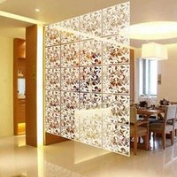 wall dividers - Hanging Screens Simple and comfortable Room Dividers Personalized Wall Stickers screen PVC decorative grilles