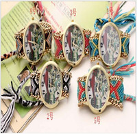 Wholesale 2015 new colorful knit watch National wind retro bracelet braided belt watch Leisure and fashion style watch lady lovers watch