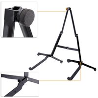 Wholesale High Quality Guitar Stand Holder A Shape Frame Design Foldding Stand for Guitar Bass Banjo Bouzouki Mandolin with Storage Bag I958