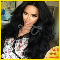 lace wigs - Lace Front Wig Unprocessed Virgin Glueless Full Lace Wig Peruvian Body Wave Full Lace Human Hair Wigs For Black Women