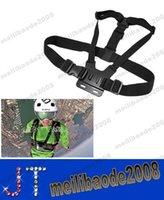 Wholesale NEW Szs caliente ajustable elástico correa para el pecho Mount Harness para GoPro HD Hero cámara del deporte free shippin MYY15069