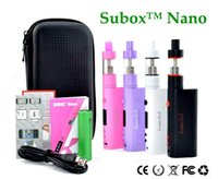 Wholesale Kanger Subox NANO starter kit zipper kit with Watt Mod battery OCC Coil Subtank NANO v2 VS eleaf istick W