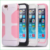 Wholesale 3200mAh External Battery Backup Charger Case Pack Power Bank for iPhone Work With iOS