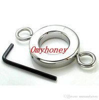 Wholesale new stainless steel anal and ball toys cock rings dildo rings bondage chastity devices sex toys for men SM256