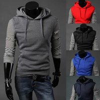 add vest - the new tide of sports leisure Contracted style Add wool vest men hooded head set