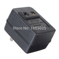Wholesale Hot Sale W Watts US Japan Canada Brazil For AC Power V to V Voltage Converter Adapter Travel Transformer