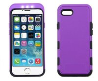 Wholesale the newsest design led light cover case for mobile iphone
