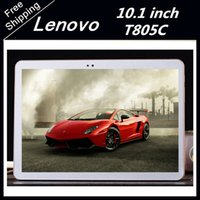 Wholesale Lenovo New Model Tablet pc T805C inch G Google Android G RAM G ROM Tablet Bluetooth WIFI GPS WCDMA GSM