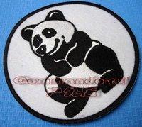 air force squadron - Chinese Air Force WWII American Volunteer Group Tigers AVG second squadron Panda badge