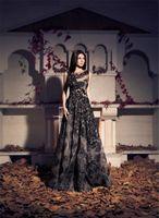 Cheap Formal Lace Evening Dresses Best Black Gown
