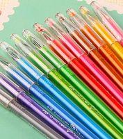 Gel Pens stationery - 12 color star diamond series Color pen Gel pen Cute pen Gel ink pen Stationery Novelty gift Caneta papelaria Office material escolar