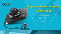 best sd camcorder - New Best Quality Original G30B inch P LCD Car DVR Vehicle Camera Video Recorder Dash Cam G sensor Night Vision Car Camcorder DHL