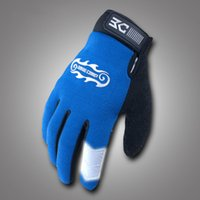 bc bike - BASECAMP Winter NEW Unisex Cycling Bike Bicycle Full Finger Gloves Blue Color Size M L XL BC A