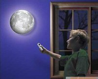 Wholesale Healing Moon Light Wall Lamp Night Light Projector Lamp White Great Romanticy gifts for Valentine s Day