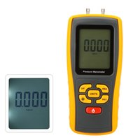 Wholesale Portable GM510 High Pression USB Digital Air Pressure Gauge Manometro Manometer Measuring Range kPa With LCD Backlight order lt no track