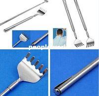 Wholesale Extendable Telescoping Back Scratcher w Pen Pocket Clip Handy Pocket Portable Steel Body Scratch Scratcher With Pen Clip