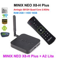 air h - MINIX NEO X8 H X8H Plus Amlogic S812 Quad Core Android TV Box Smart TV G G G G Free A2 Lite air mouse