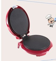 Wholesale Cone baking pan egg rolls Crispy egg roll machine home ice cream from the mold safety sided heating