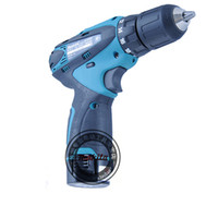 battery cordless screwdriver - Genuine Makita lithium ion battery Cordless electric drill DF330DWE screwdriver tool