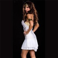 Cheap 2015 new style Halloween Party Cosplay Anime Costume Role Playing Greek Goddess Princess Costume Sexy Suit ZL880