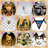 beauty loose diamonds - 2015 new eye beauty cycle letter for fall winter trend of the diamond shaped Tiger bird men s Turtleneck long sleeve sweater
