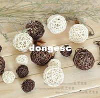 Wholesale cm Holiday Event Party Supplies Rattan Ball Wedding Decoration Ornament Craft Ball