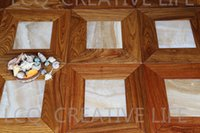 Wholesale Vietnam pear mm and jade mm mm flooring Parquet flooring Medallion wooden floor living room Art flowers