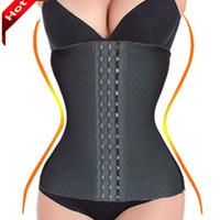 Wholesale Steel Bone waist trainer Women Slimming Waist training corsets Underbust cincher body shaper corset slimming shapers