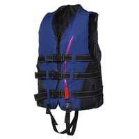Wholesale Life Jacket Vest With Whistle Boating water fishing Swimming Safety Life Jacket High quality Adult Foam Flotation Swimming