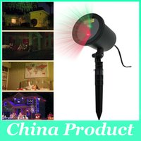 Wholesale Waterproof Outdoor Laser Firefly Stage Lights Landscape Red Green Projector Christmas Garden Sky Star Lawn Lamps new arrival