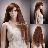Cheap Synthetic hair woman Best 24  light brown