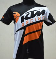 Wholesale Summer short sleeve KTM cycling quick dry shirt jersey breathable Running off road mountain biking T Shirts