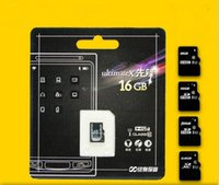Wholesale Micro SD Card gb gb gb CLASS10 TOP TF Memory Card C10 Flash SDHC SD Adapter White Orange Retail Package free dhl
