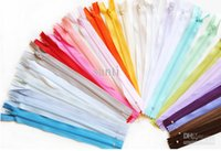 Wholesale 3 nylon zipper cm closed end zipper colors Nylon Coil Zippers Tailor Sewer Craft Inch