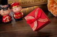 boxes for candy - Chinese Red Double Happiness Paper Favor Box Gift For Wedding Supply Candy Boxes