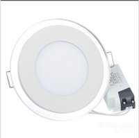 Cheap AC85-265V 10W 15W 20W acrylic LED Recessed Ceiling Panel Down Light Cold White Warm white