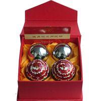 Wholesale Baoding iron ball Peony elderly ladies handball health care ball ball New Year New Year gift ideas