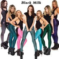 Cheap New Sexy Women Mermaid Leggings Best Fish Scale Printed Fitness Leggins