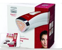 Wholesale 2015 New Arrival Silk n FaceFx Anti Aging LED Handheld Facial Device
