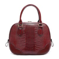 designer crocodile handbags - Handbags Hot sale crocodile shell bag famous brand designer handbag women s messenger bags women shoulder bag medium handbag V2G79