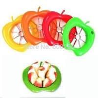 Wholesale Hots Perfect Corer Slicer Easy Cutter Cut Fruit Knife Cutter for Apple Pear Stainless steel Dicing Cutter Creative Stuff