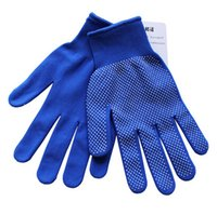 safety glove - Cheap driving riding gloves anti slip silicone dots sports gloves outer door climbing safety work gloves