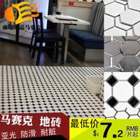 bathroom glazing - Mosaic tiles glazed ceramic mosaic backdrop bathroom kitchen bathroom tile white hexagonal tiles