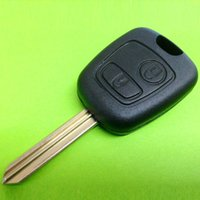 Wholesale Hot Remote Button Key Shell Fob Blank Key Replacement For Peugeot Citroen VE333 W0 SYSR