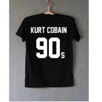 baseball band shirt - Flipper Nirvana Fish Kurt Cobain Shirt Rock Music Band T Shirt Men Short Sleeve Hip Hop Baseball Tee Shirts Casual Sport Wear