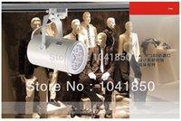 Wholesale w LED track light for store shopping mall lighting lamp Color optional White black Spot light