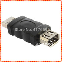 Wholesale 1pcs New Pin Female Firewire IEEE to USB Male Adaptor Convertor Dropshipping