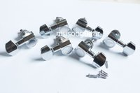 Wholesale 3L3R Chrome Guitar Tuners Machine Heads buttons for for Electric Guitar parts